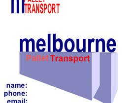 #27 for Design some Business Cards for Melbourne Pallet Transport af elena13vw