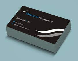 suneshthakkar tarafından Design some Business Cards for Melbourne Pallet Transport için no 3