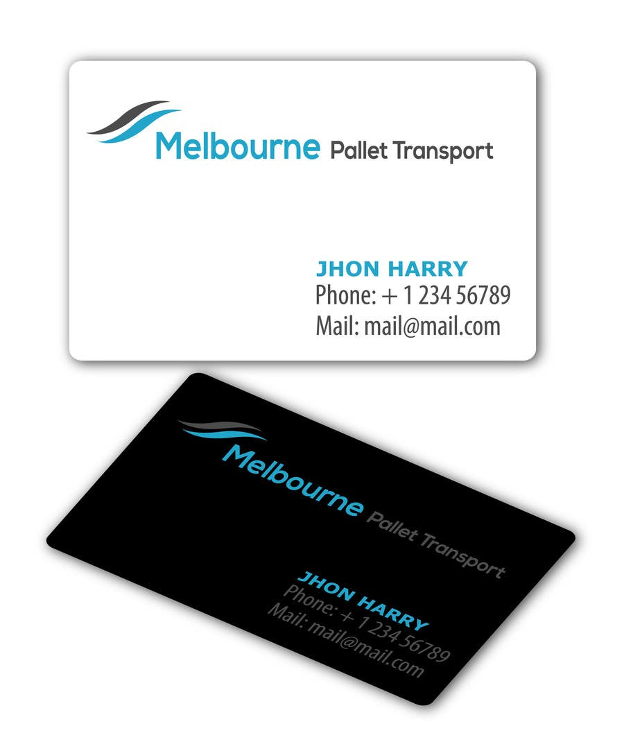 #12 for Design some Business Cards for Melbourne Pallet Transport by texture605