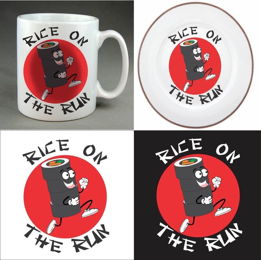 #32 for Rice On The Run logo design by henrydarko