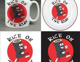 #32 para Rice On The Run logo design por henrydarko