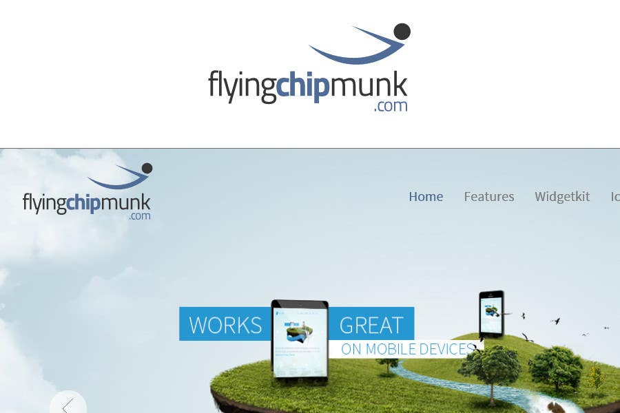 #95 for Design a Logo for skydive wingsuit site by commharm