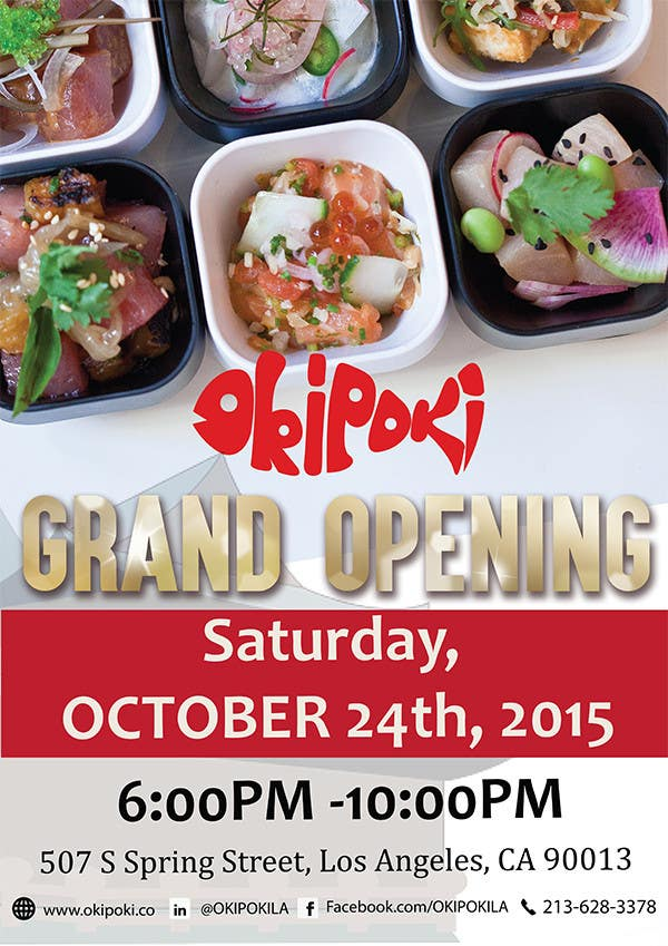 Entry #18 By Jassna For Design Restaurant Grand Opening Flyer