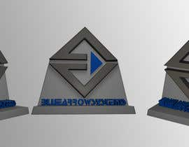 #7 para Do some 3D Modelling for My Company Logo por eduardobravo