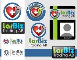 #3 cho Designa en logo for LarBiz Trading AB bởi ben2ty
