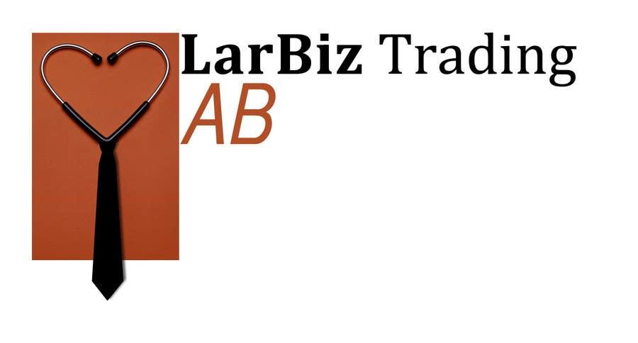 #27 for Designa en logo for LarBiz Trading AB by jaskovw
