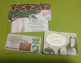 #47 untuk Wedding Invitation and Save the date card oleh abaraquel