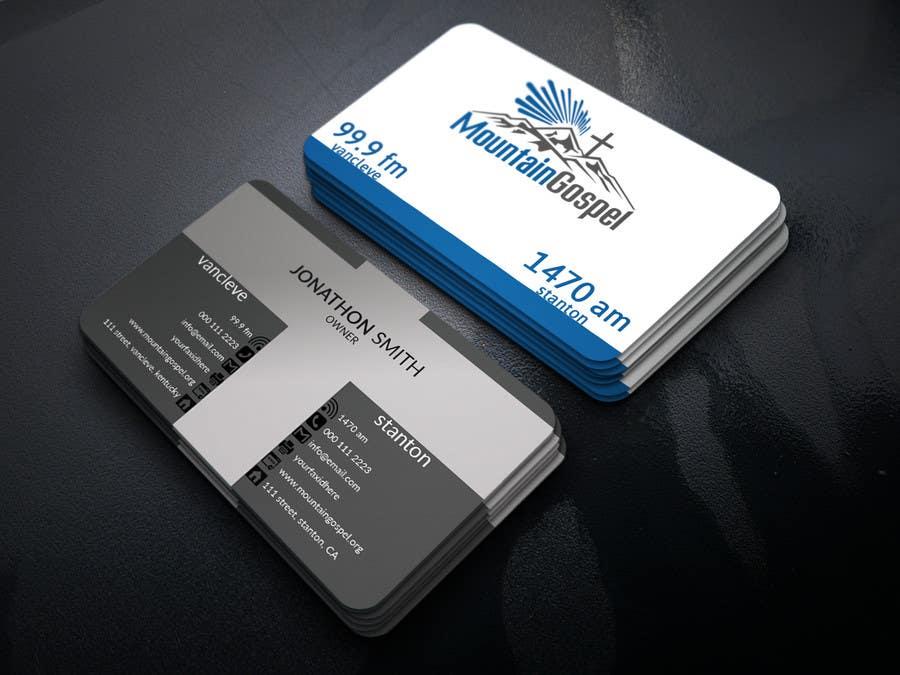 Entry #59 by hossain713 for Design a Quality Custom Business Card ...