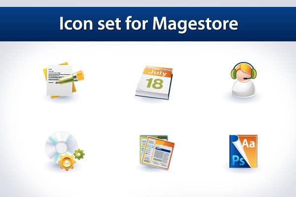 Inscrição nº                                         15                                      do Concurso para                                         Design Icon Set for Magestore (will choose 3 winners)
