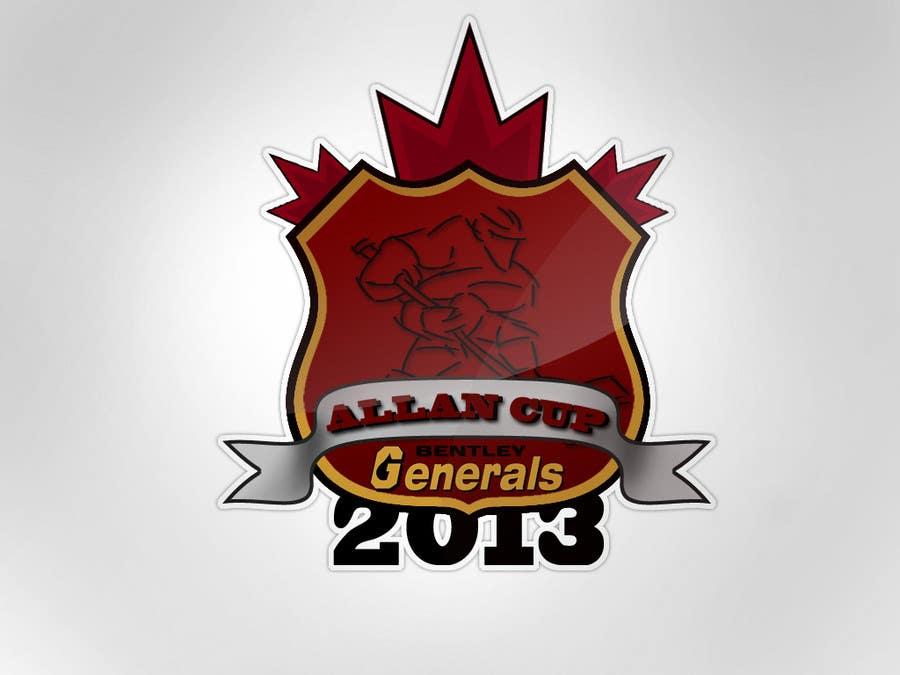 Конкурсная заявка №166 для Logo Design for Allan Cup 2013 Organizing Committee