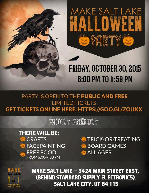 contest entry 16 for design a halloween party flyer