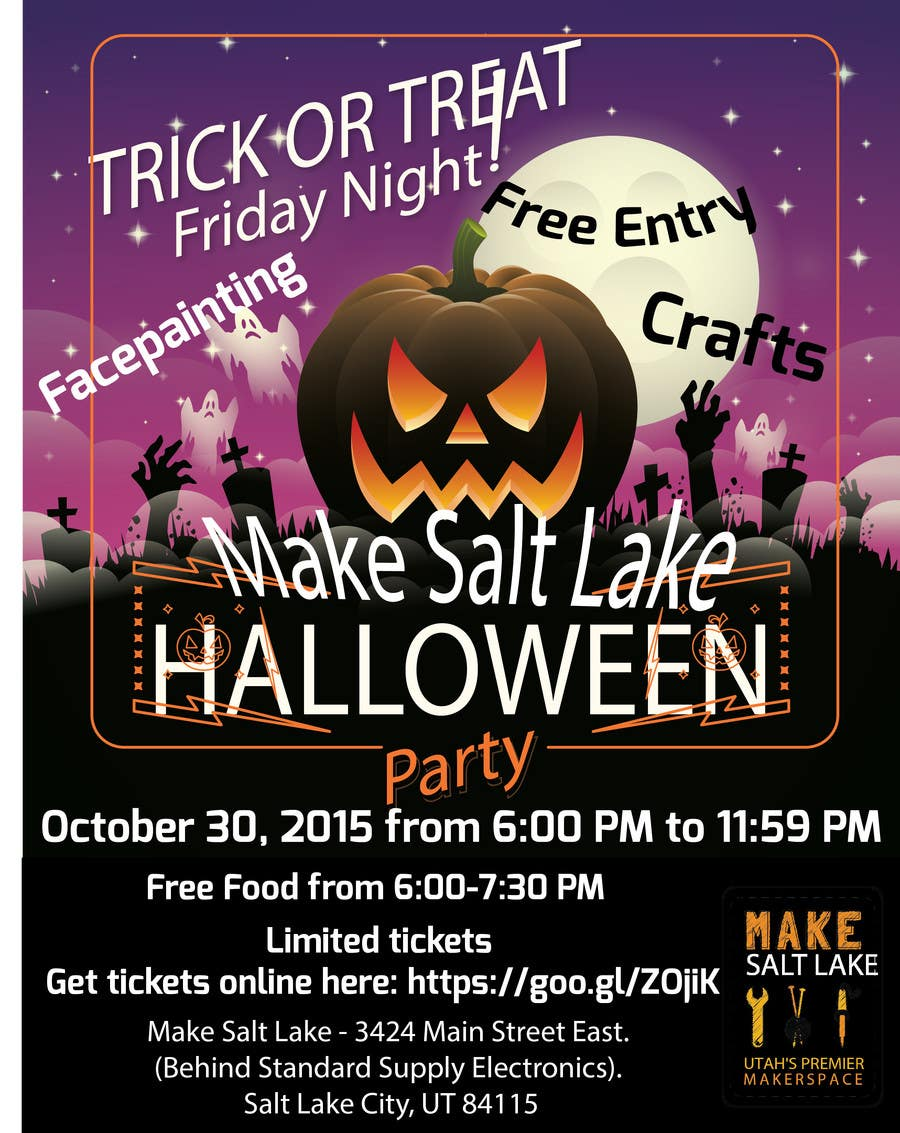 entry 11 by sujon0787 for design a halloween party flyer freelancer