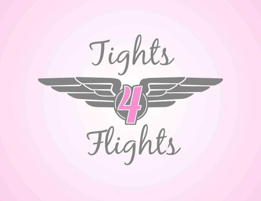 #10 for Design a Logo for Tights 4 Flights by taylorhanneman