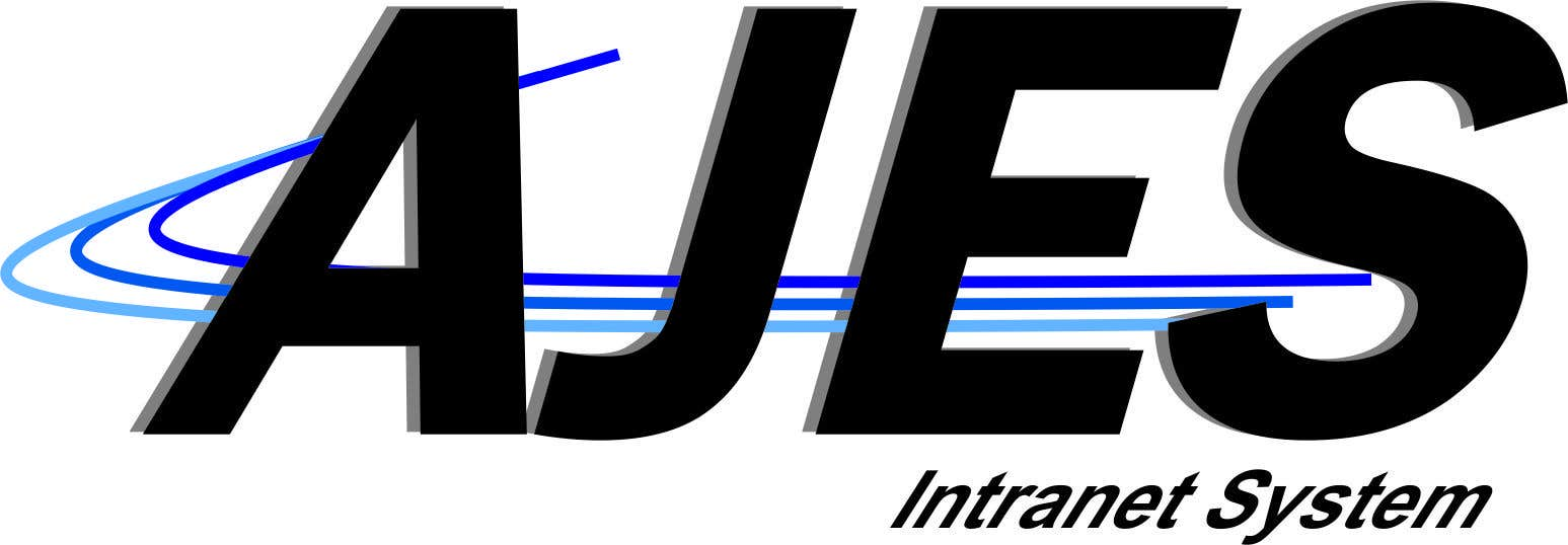 Bài tham dự cuộc thi #                                        6                                      cho                                         Design a Logo for AJES Intranet System