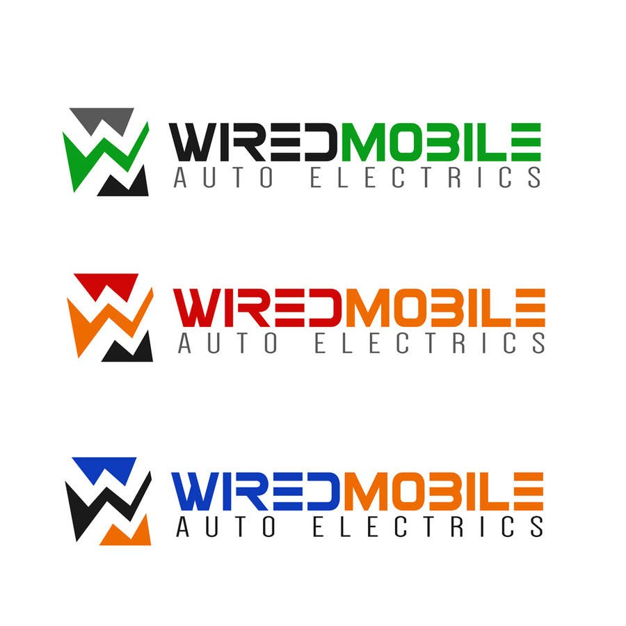 Entry #32 by ralfgwapo for Wired Mobile Auto Electrics Logo Design ...
