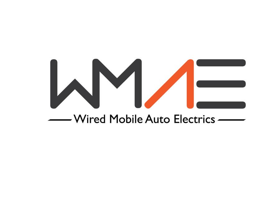 Entry #20 by avtmsndicosta for Wired Mobile Auto Electrics Logo ...
