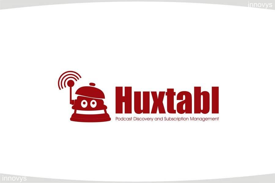 """Intrarea #263 pentru concursul """"Logo Design for Huxtabl"""""""