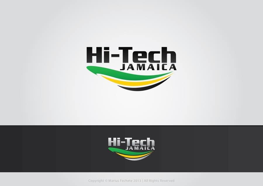 #229 for Logo for Hi-Tech Jamaica by mariusfechete