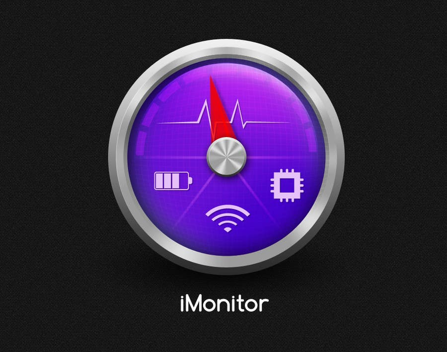 #164 for Design an App Icon for iMonitor (Mac App) by chithrarahul