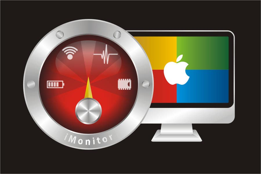 #201 for Design an App Icon for iMonitor (Mac App) by ariekenola