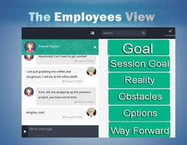 #2 for Design a mockup for a chat system by AlexisDolores