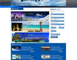 amfahsoft tarafından Design a Website Mockup for Online Booking Engine için no 1