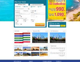 #6 untuk Design a Website Mockup for Online Booking Engine oleh shankardesigner
