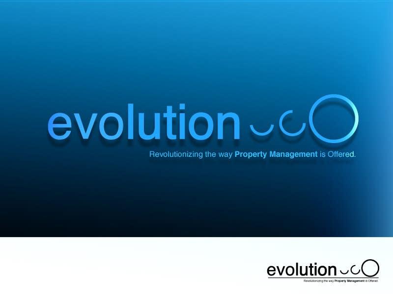 Конкурсная заявка №130 для Logo Design for evolution property management