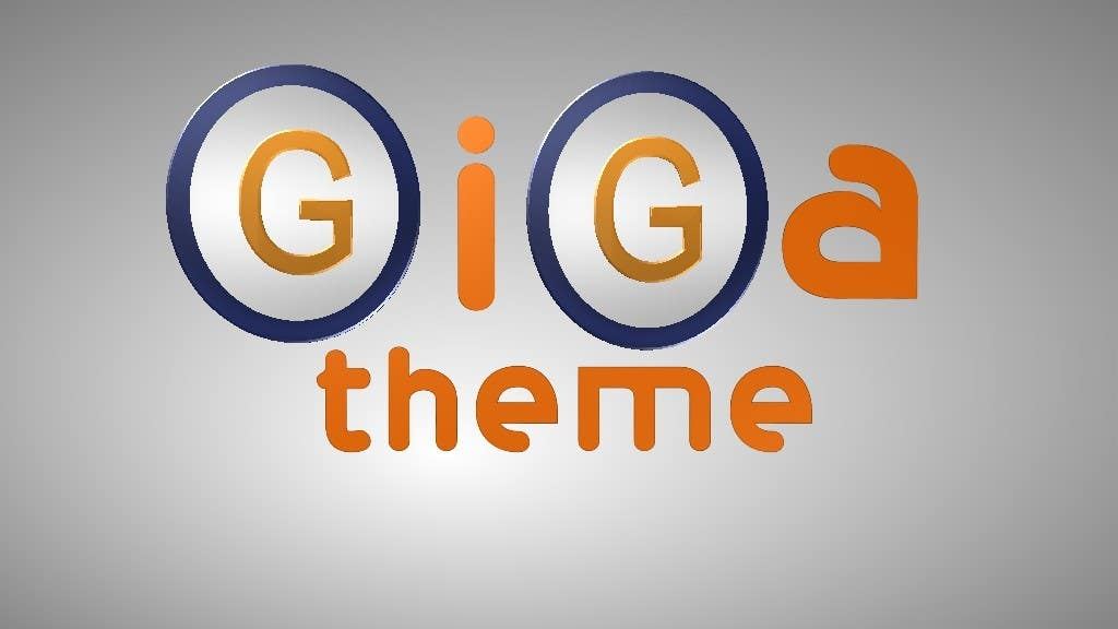 Kilpailutyö #12 kilpailussa Design en logo for Gigatheme.com