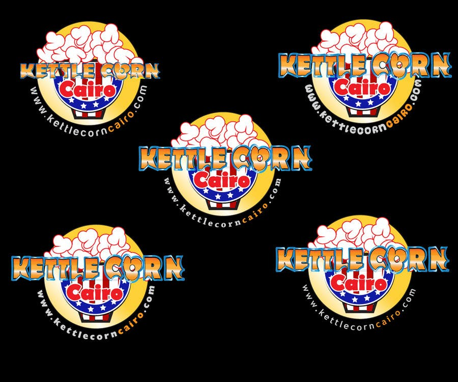 "Contest Entry #43 for Design a Logo for ""Kettle Corn Cairo"""