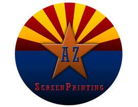 #64 untuk Design a Logo for Arizona Screen Printing - AZscreenprinting.com oleh nir7557
