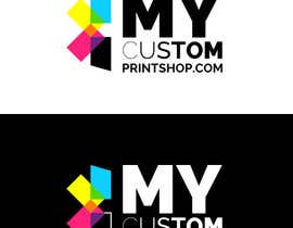 #6 para Design a Logo for MyCustomPrintShop.com por Viniloco