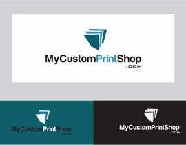 #27 para Design a Logo for MyCustomPrintShop.com por ZahidAkash009