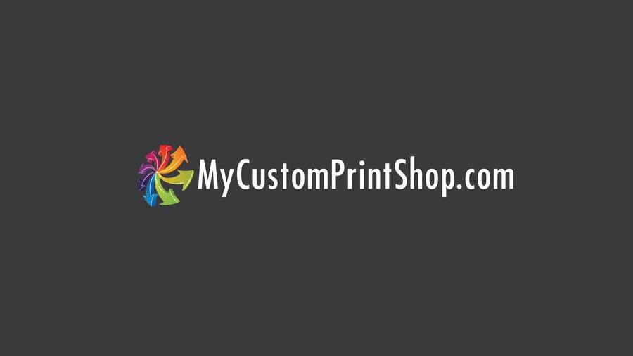 Design a Logo for MyCustomPrintShop.com için 2 numaralı Yarışma Girdisi