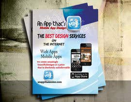 five55555 tarafından Design a Flyer for Mobile App and Website Developer için no 3