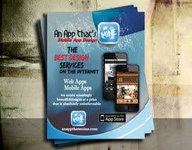 #19 untuk Design a Flyer for Mobile App and Website Developer oleh five55555