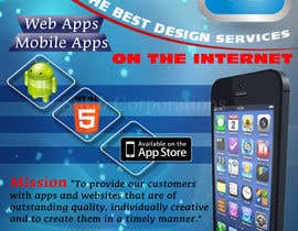 StdioRelations tarafından Design a Flyer for Mobile App and Website Developer için no 21