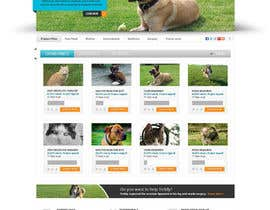 #24 para Design an awesome Website mock-up for PetSaviors por Pavithranmm