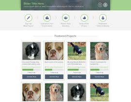 nº 28 pour Design an awesome Website mock-up for PetSaviors par elshahat