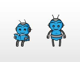#4 for Create a friendly, quirky Mascot with an artificial intelligence theme af creativodezigns