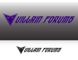 nº 9 pour Design a Logo for Villain Forums par edventure
