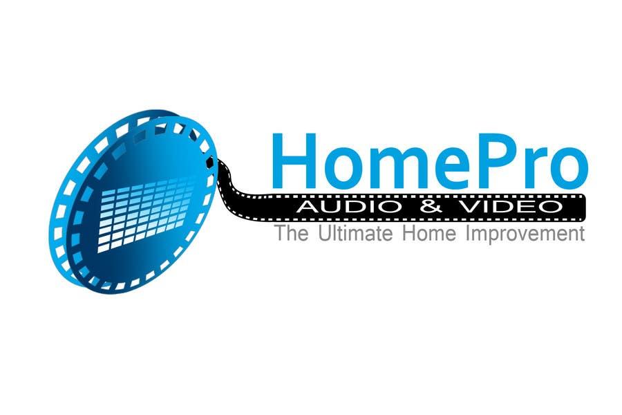 Bài tham dự cuộc thi #                                        288                                      cho                                         Logo Design for HomePro Audio & Video
