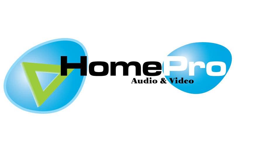 Конкурсная заявка №239 для Logo Design for HomePro Audio & Video