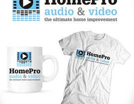#215 untuk Logo Design for HomePro Audio & Video oleh santarellid
