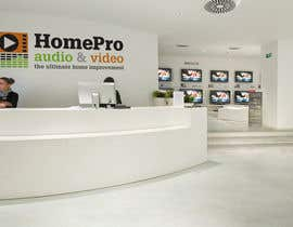 #285 pentru Logo Design for HomePro Audio & Video de către santarellid