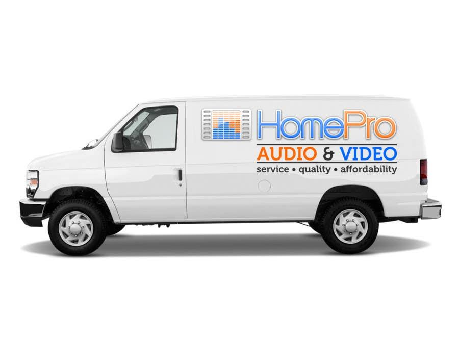Конкурсная заявка №311 для Logo Design for HomePro Audio & Video