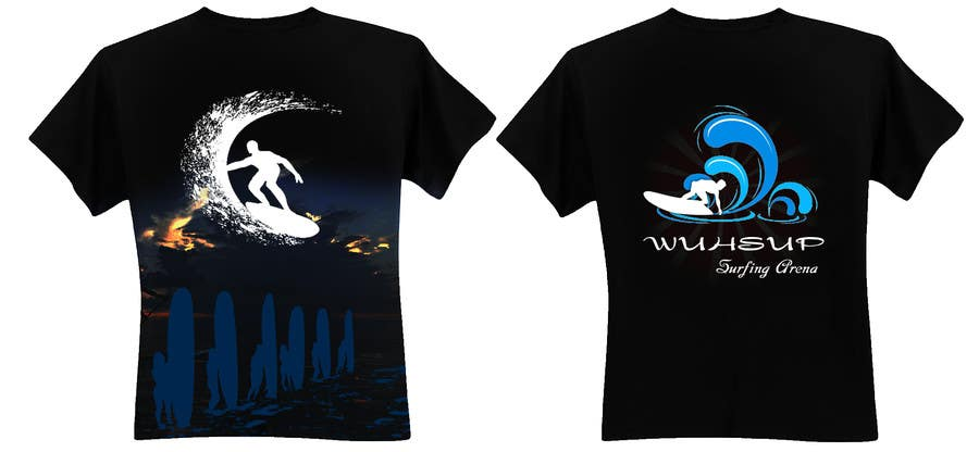 Penyertaan Peraduan #23 untuk Design a T-Shirt for WUHSUP