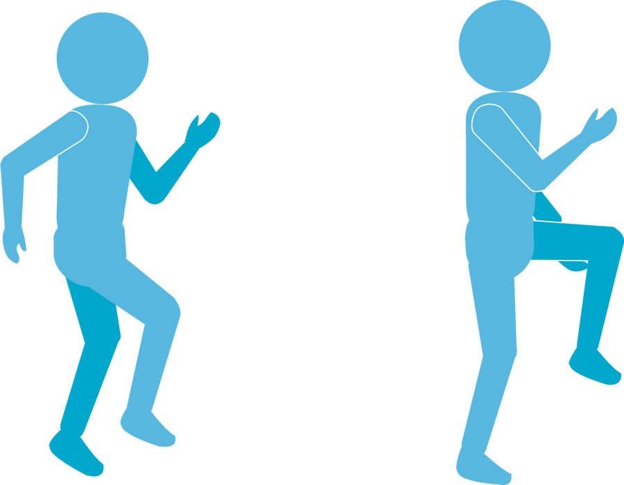 Inscrição nº                                         13                                      do Concurso para                                         stickman workout illustration design