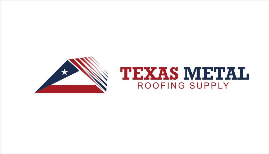 Bài tham dự cuộc thi #                                        107                                      cho                                         Design a Logo for Texas Metal Roofing Supply