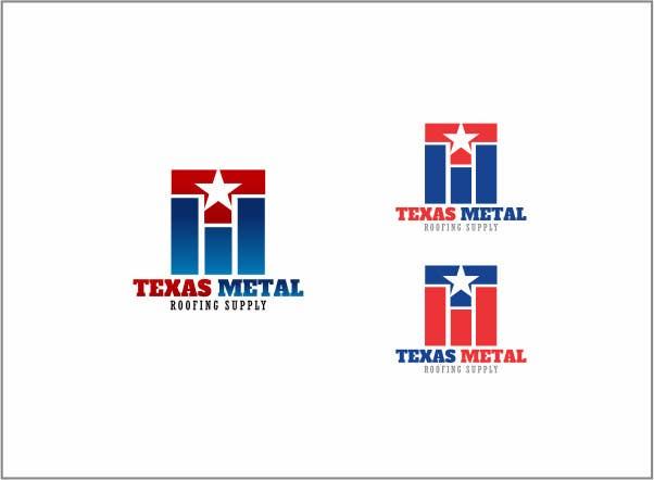 Bài tham dự cuộc thi #                                        166                                      cho                                         Design a Logo for Texas Metal Roofing Supply